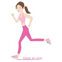 Logo Corre en Rosa